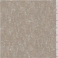 *1 1/2 YD PC--Tan Herringbone Coating