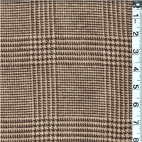 *2 1/2 YD PC--Brown/Light Tan Coating