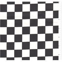 *3 1/8 YD PC--Black/White Check