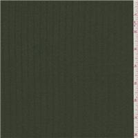 *3 YD PC--Forest Green Satin Stripe Tencel