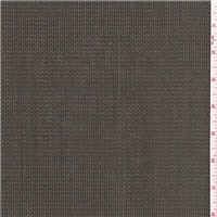 *1 1/2 YD PC--Dark Taupe Wool Suiting