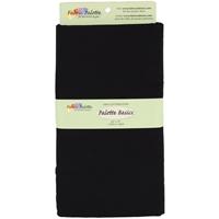 "Fabric Palette 2yd Pre-Cuts 42""X72"" 100% Cotton-Black"