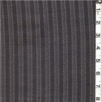 *2 1/2 YD PC--Cream/Navy Blue Suiting