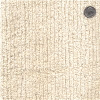 *5/8 YD PC--Natural Cotton Chenille