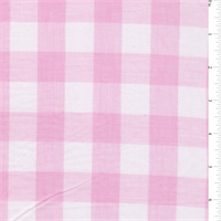 Pink 1 Inch Gingham