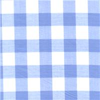 *2 YD PC--Blue 1 Inch Gingham