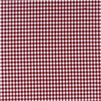 *2 3/8 YD PC--Burgundy 1/8 Inch Gingham