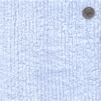 *3/4 YD PC--Blue Cotton Chenille