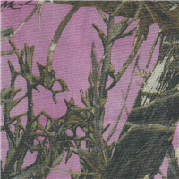 *3/4 YD PC--True Timber MC2 Pink Satin