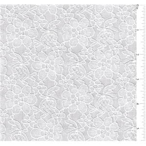 White Lace La0101 Fashion Fabrics