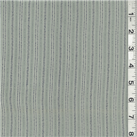 *4 YD PC--Seafoam Green Stripe Suiting