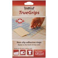 TrueCut Non-Slip Ruler Grips-15/Pkg