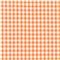*2 1/4 YD PC--Orange 1/4 Inch Gingham