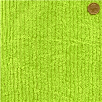 *3/4 YD PC--Lime Cotton Chenille
