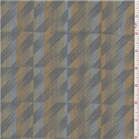 *3 YD PC--Pewter Grey Stripe Cotton