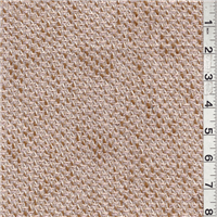 *3 1/2 YD PC--Brown/Peach Boucle Coating