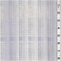 *2 1/2 YD PC--Periwinkle/Natural Leno
