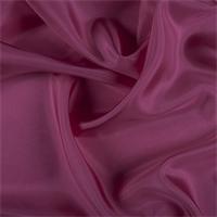 *1 YD PC--Fuschia Silk Crepe de Chine