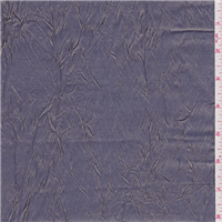 *3 1/8 YD PC--Periwinkle/Gold Crinkled Shimmer