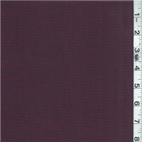 *3 YD PC--Mulberry/Plum Plaid Suiting