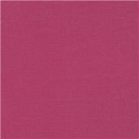 *2 YD PC--Coral Red Linen
