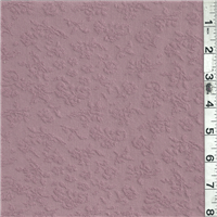 *3 YD PC--Dusty Pink Jacquard Knit