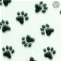 Paw Print Fleece Bolt