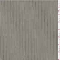 *1 YD PC--Dark Grey Stripe Suiting