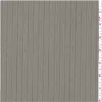 *1 YD PC--Dark Grey Stripe Suiting