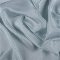 *1 YD PC--Pale Blue Silk Crepe de Chine
