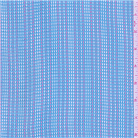 *4 YD PC--Aqua Blue/Pink Cotton Suiting