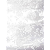 *1/2 YD PC-- YD PC--White Jacquard