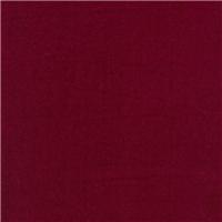 *1 5/8 YD PC--Wine Silk Rayon Velvet