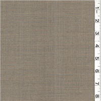 *4 YD PC--Olive Green/Gray Blue Wool Suiting