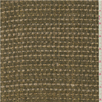 *7/8 YD PC--Cocoa Brown/Gold Suiting