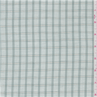 *2 3/8 YD PC--Aqua Green Check Linen