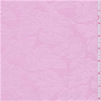 *2 5/8 YD PC--Baby Pink Leaf Damask