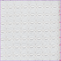 *1 YD PC--White Embroidered Eyelet