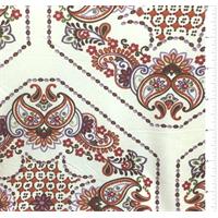 Ivory Print Silk Jersey Knit
