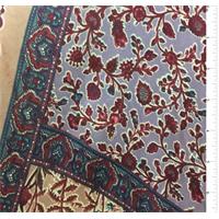 Lavender Print Silk Jersey Knit