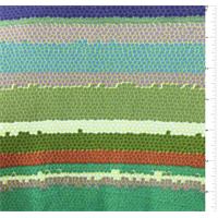 Olive Print Silk Jersey Knit
