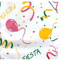 Green Fiesta Oilcloth