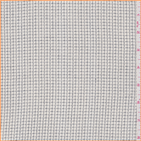 *1 1/2 YD PC--Ivory Check Suiting
