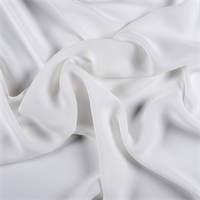 *1 YD PC--Ivory Silk Double Georgette
