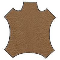 Tan Distressed Leather Hide