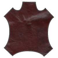 Mahogany Leather Hide
