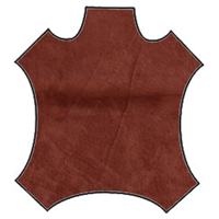 Rust Suede Hide