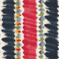 *1 1/2 YD PC--Stripe Poly Crepe de Chine