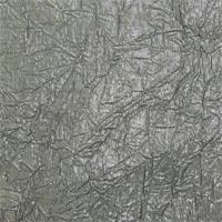 Metallic Grey Crinkle