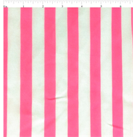 White/Neon Pink Chiffon